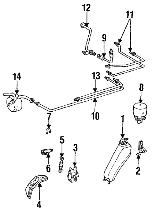 Auto Leveling Components for 1994 Mercedes-Benz E 320 #0