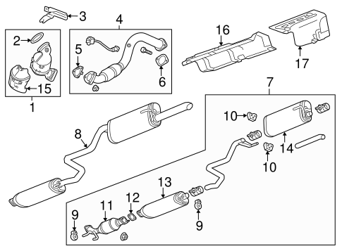 Catalytic Converter - GM (55578984) | GM Outlet Parts