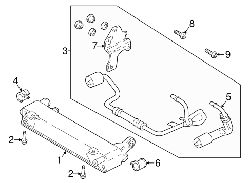 Ford F 250 Cooling System Diagram