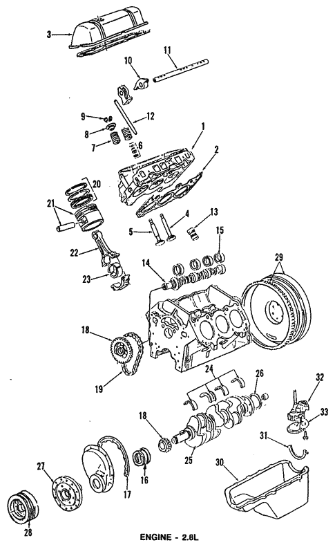 Engine For 1991 Chevrolet S10 Blazer