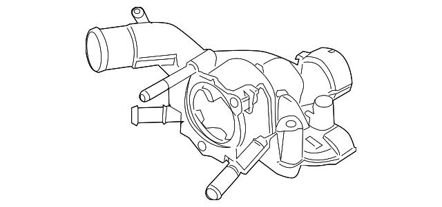 Motorcraft Thermostat Housing Cover Available Via Pricepi Com Shop
