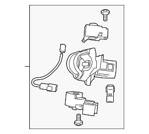 Ignition Assembly - Toyota (45020-02290)