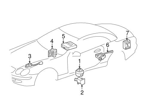 Alarm System For 2005 Mercedes Benz Sl 55 Amg