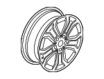 Wheel, Alloy - Mercedes-Benz (205-401-02-00-67-7756)