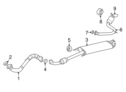 2006 Rav4 Exhaust Diagram