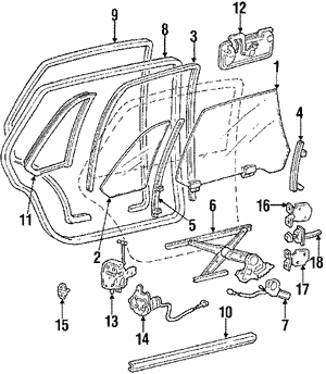 Motor Assembly, L Window