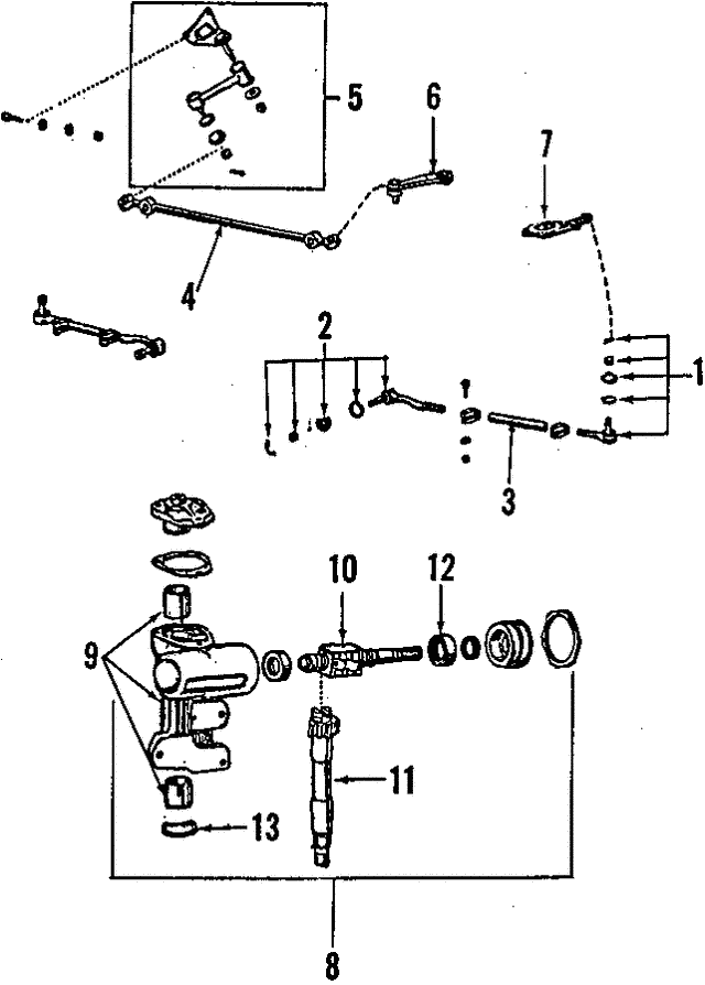 ford truck steering diagram toyota 8fgcu25 steering diagram #9