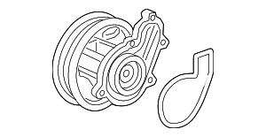 Water Pump - Honda (19200-RPY-G01)