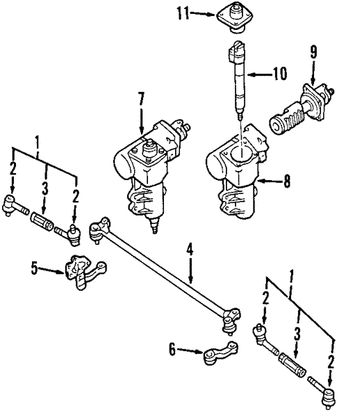 Steering Gear Linkage For 2003 Nissan Frontier
