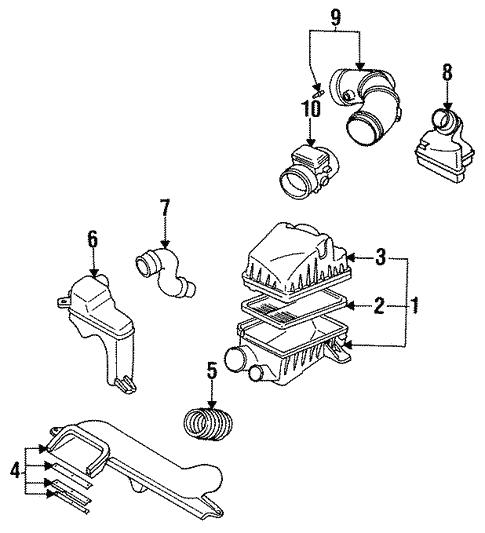 1993 mazda 626 engine diagram