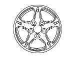 Wheel - Hyundai (52910-G2000)