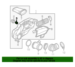 Air Cleaner Assembly Pin