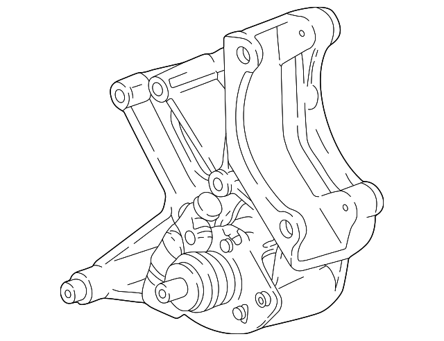 power steering pump mount bracket