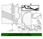 Pipe, Air Conditioner - Honda (80320-TR3-A01)