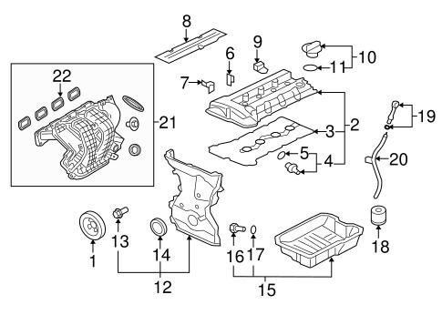 Engine Parts For 2008 Mitsubishi Lancer Auto Parts