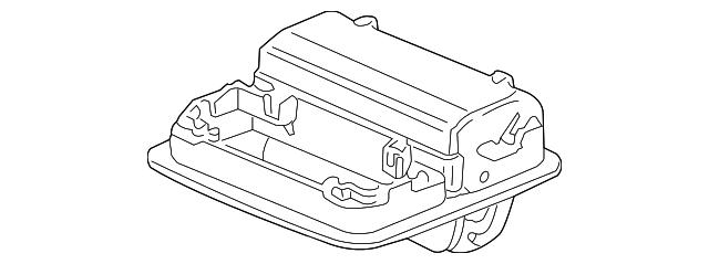 Honda Genuine 83425-TA0-A00 Center Console Bracket