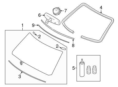 glass windshield parts for 2014 infiniti qx80. Black Bedroom Furniture Sets. Home Design Ideas