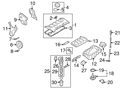 Engine Parts For 2009 Audi Tt