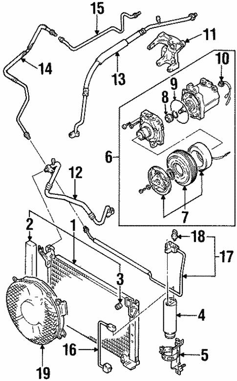Suzuki Condenser Diagram