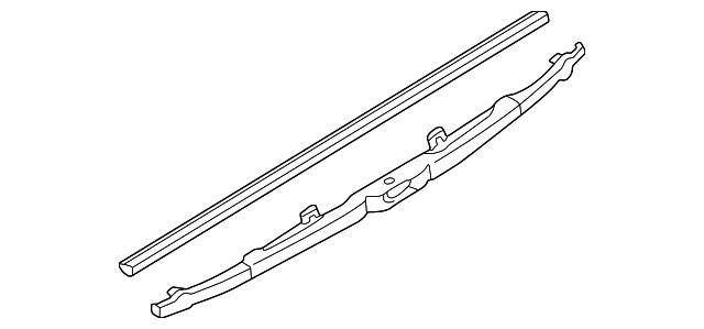 Wiper Blade Winter Type Rear 15 Inch Except 2004 05