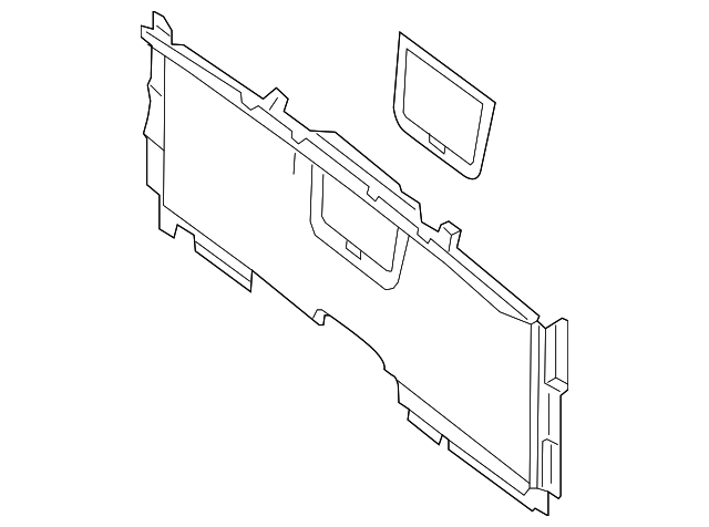 partition panel mercedes benz 231 690 31 41 8r00 mb parts world 2016 Mercedes S-Class genuine mercedes benz parts