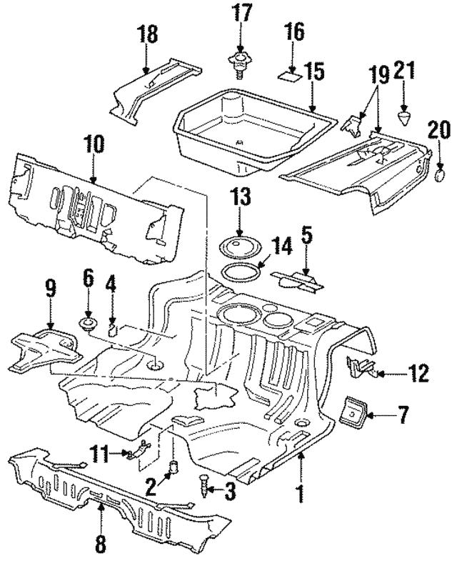 1992 2005 Audi Cover Seal 321 803 963