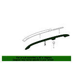 Roof Rack - Mercedes-Benz (166-890-05-00-64)