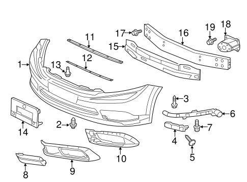 Extension, L Front Bumper