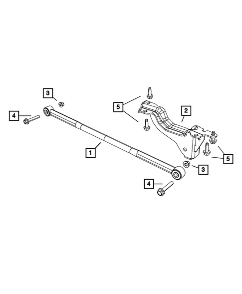 Rear Stabilizer Bar for 2013 Chrysler Town & Country #0