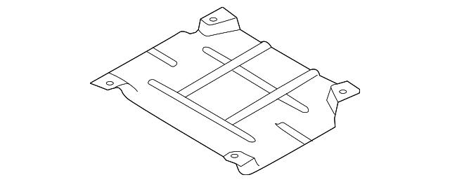 Genuine Ford Front Deflector DG9Z-6P013-D