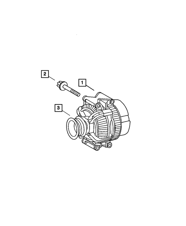 Alternator Pulley - Mopar (5117591AA)