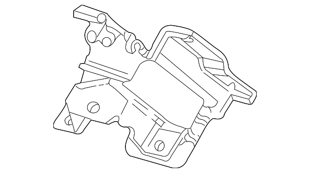 Motor Mount Gm 15134282 Gm Parts Club
