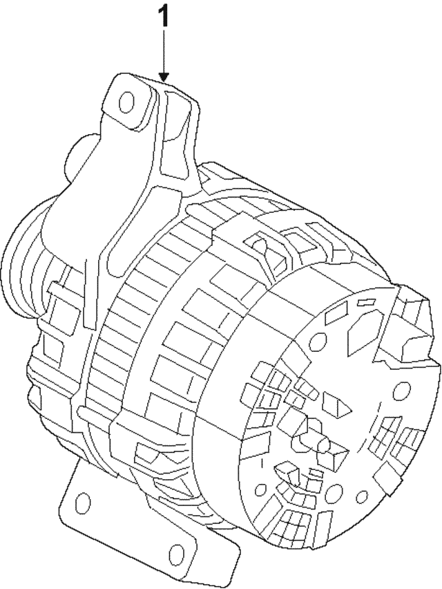 Alternator - Land-Rover (LR067840)
