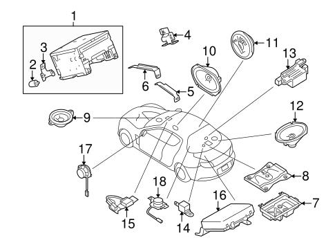 Mazda Amplifier F19066920