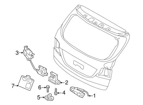 Santa Fe Bodyliftgate Parts