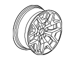 Wheel, Alloy - GM (20937769)
