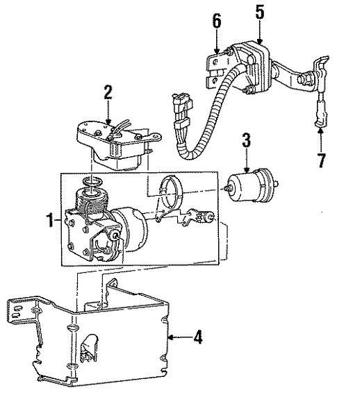 oem 1995 cadillac fleetwood auto leveling components parts