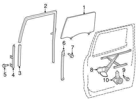 ELECTRICAL/REAR DOOR for 2015 Toyota Tundra #2