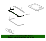 Air Deflector - Mercedes-Benz (208-784-00-70)