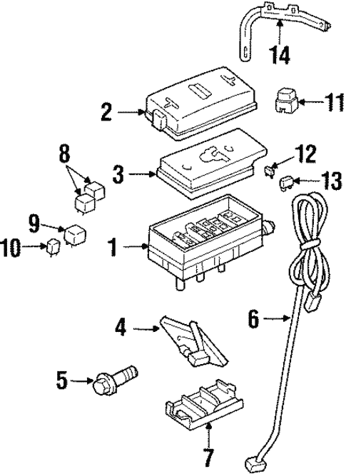electrical components for 2001 oldsmobile aurora