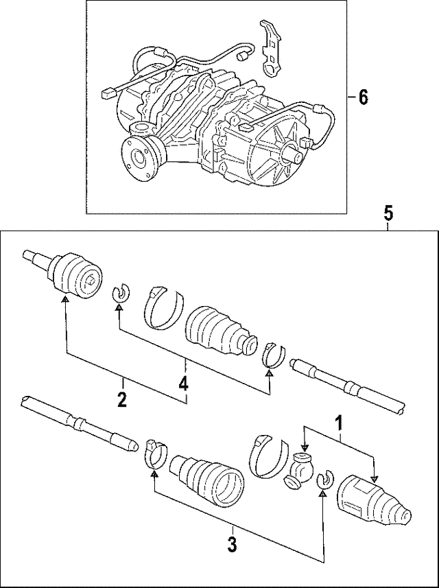 Drive Shaft Assembly, L - Honda (42311-S9V-A50)