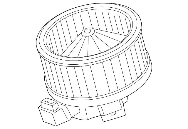 genuine toyota blower motor 87103