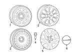 Wheel Cover - Mopar (4726162AB)