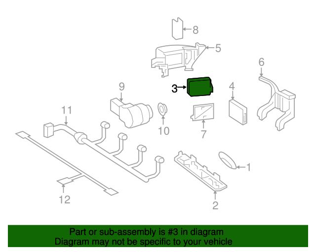 Radar Sensor Mercedes Benz 000 905 74 05 Factory Oem