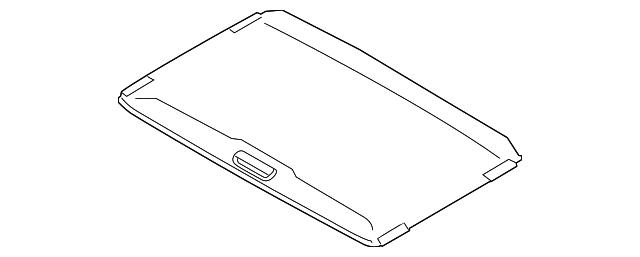 Genuine Subaru Sunroof Glass 65430AL01A