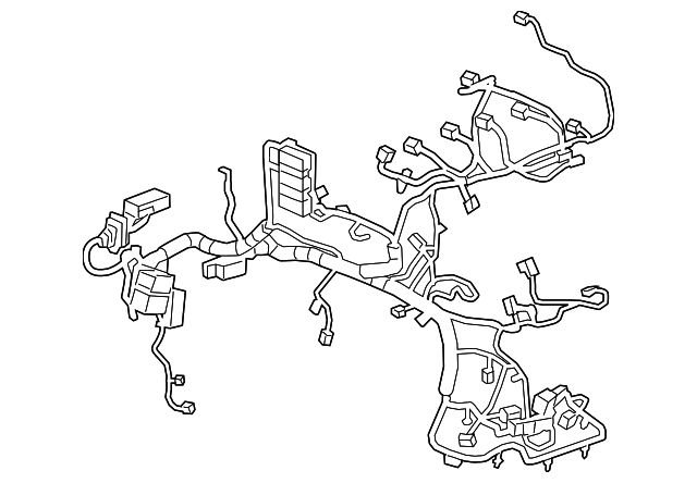 2018 Gm Engine Harness 12675424