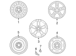 Wheel, Alloy - GM (19184108)