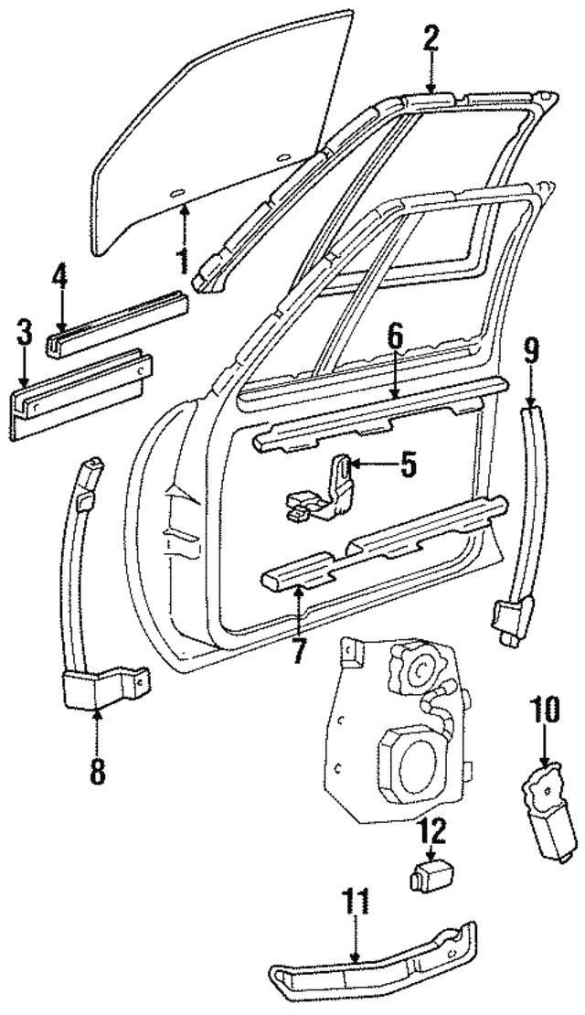 1985 1993 Gm Control Module 16627302