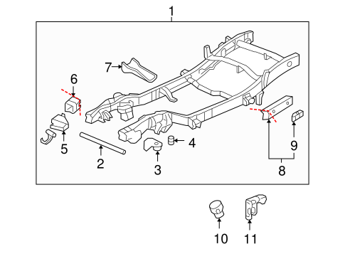 Frame & Components for 2002 GMC Yukon XL 1500 | GM Parts OnlineGM Parts Online