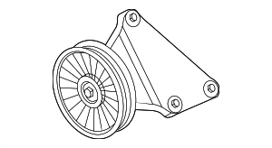 Pulley - Ford (BC3Z-8678-A)